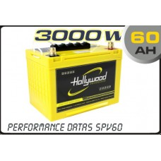 60AH AGM Battery 12V Hollywood