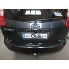 Mazda 5 ( 2005 - .... ) tow bar Galia